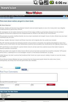 Uganda News apk screenshot