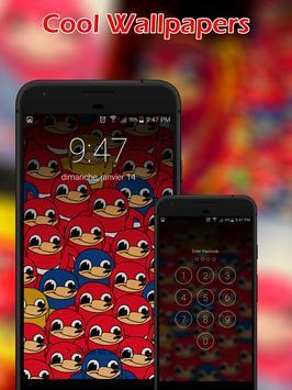 Ugandan Knuckles Lock Screen screenshot 1