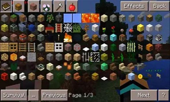 Mod Too Many Items for MCPE screenshot 2