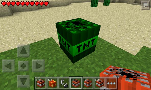 Mod TNT for MCPE poster