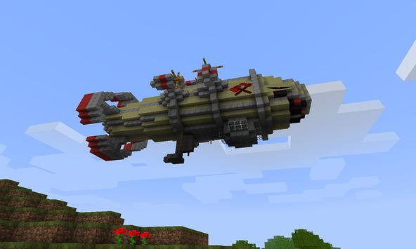 Mod Zeppelin for MCPE poster