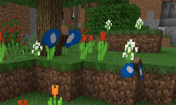 Mod Butterflies for MCPE apk screenshot
