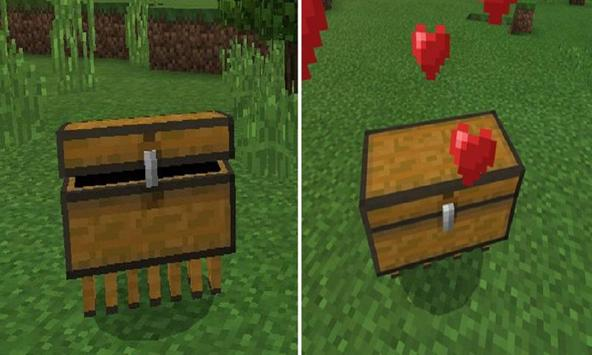 Mod Chest Pet for MCPE poster