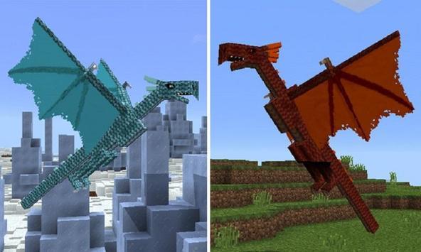 Mod Dragons for MCPE apk screenshot