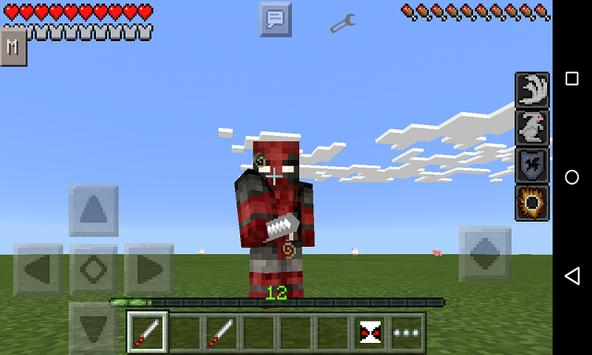 Mod Foul-mouthed Hero for MCPE apk screenshot