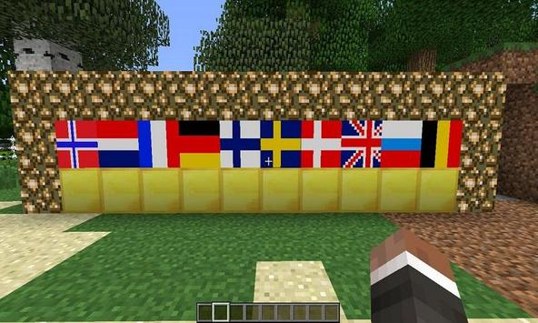 Mod Flags for MCPE screenshot 2