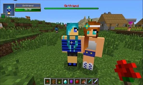 Mod Girl Friend for MCPE apk screenshot