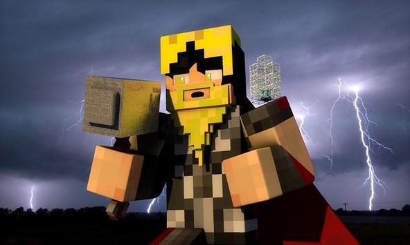 Mod God of Lightning for MCPE apk screenshot