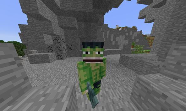 Mod Green Hero for MCPE poster