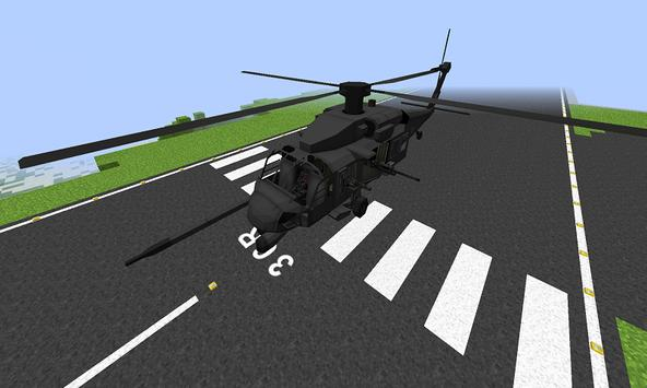Mod Helicopter for MCPE poster