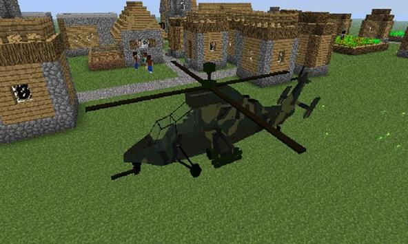 Mod Helicopter for MCPE apk screenshot