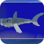 Mod Jaws and Megalodon MCPE icon