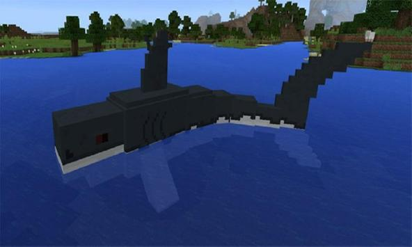 Mod Jaws and Megalodon MCPE poster