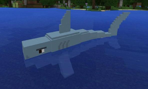 Mod Jaws and Megalodon MCPE apk screenshot