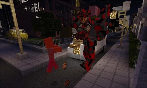 Mod Mech Suit for MCPE apk screenshot