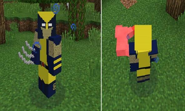 Mod Steel Claws for MCPE apk screenshot