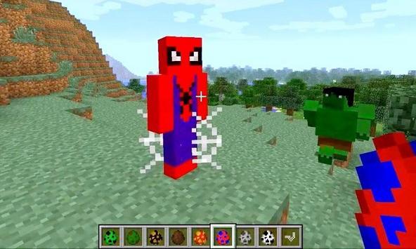 Mod Superhero Armors for MCPE apk screenshot