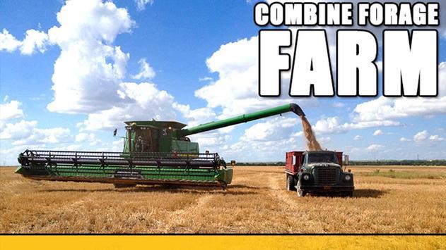 Combine Forage Farm poster