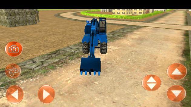Heavy Excavator Simulator 2016 apk screenshot