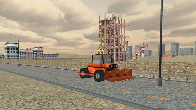 Heavy Road Roller Simulator apk screenshot
