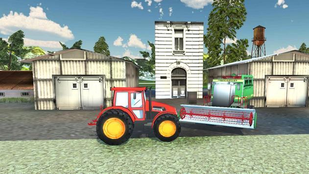 Real Farming Tractor Sim screenshot 9