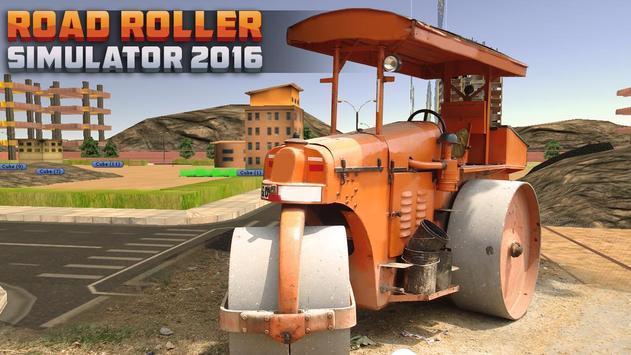 Road Roller Simulator 2016 poster