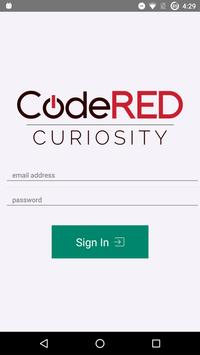 CodeRED Curiosity poster