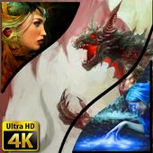 Wallpapers Fantasy 4K UHD icon