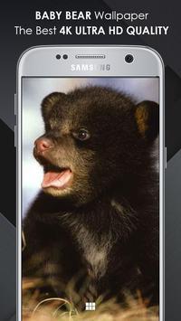 Baby Bear Wallpaper poster