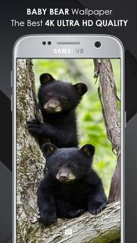 Baby Bear Wallpaper screenshot 1