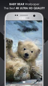 Baby Bear Wallpaper screenshot 2