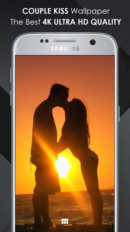 ... Couple Kiss Wallpaper Ultra HD Quality screenshot 3 ...