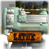 Lathe Worker: 3D Machine Simulator icon