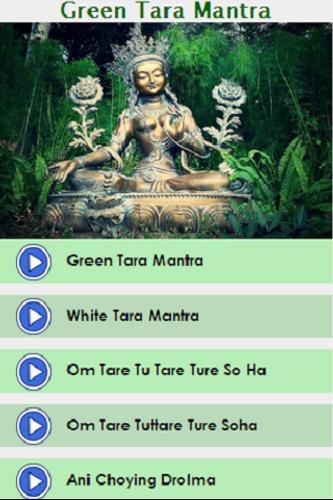 Green tara chant (download) sacred stream.