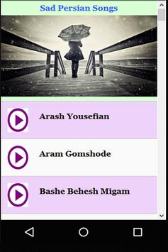 Sad Persian Songs apk screenshot