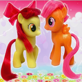Pony Little toys jigsaw game icon