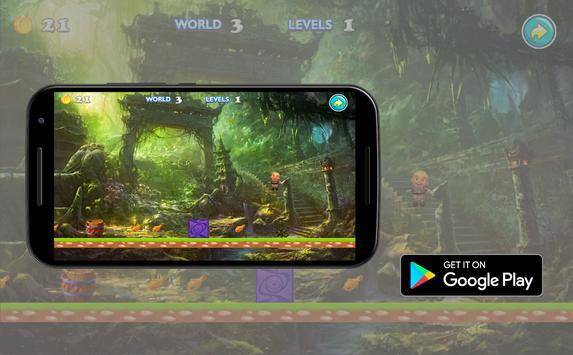 Upin Jungle Run Adventure apk screenshot
