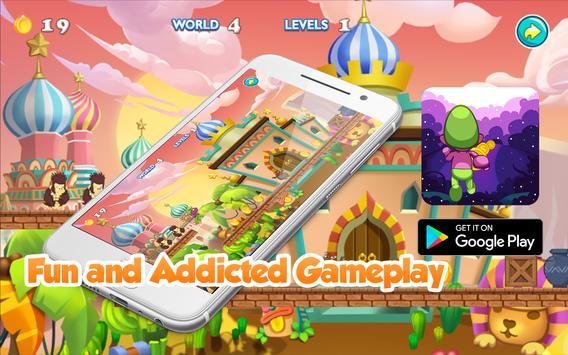 Awesome Smurf Jungle Explore apk screenshot
