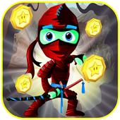Ninja Red Run Terrible icon