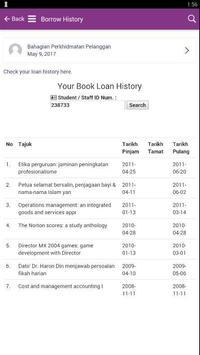 UiTM Library (Unreleased) apk screenshot