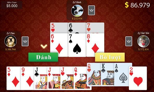 Tien Len - Thirteen - Mien Nam apk screenshot