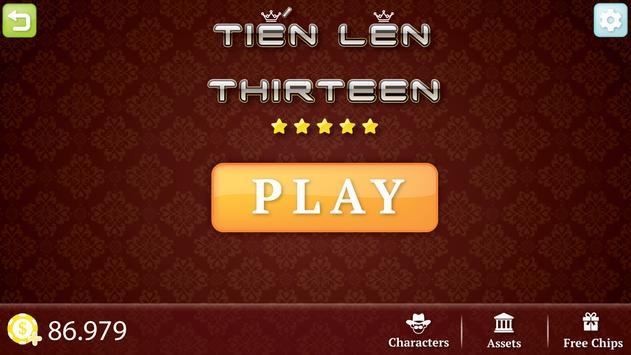 Tien Len - Thirteen poster