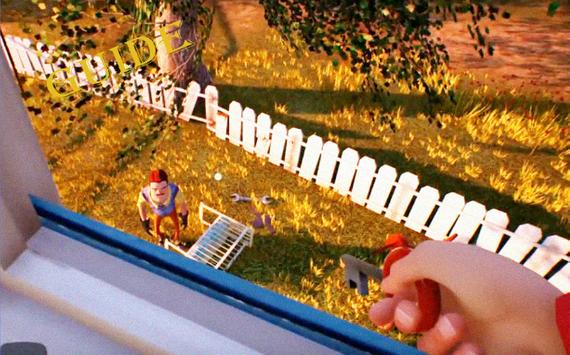 Guide Trick for Hello Neighbor poster