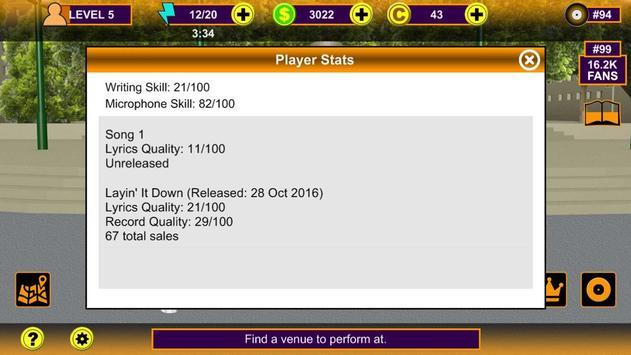 Rap Music Superstar Game screenshot 5