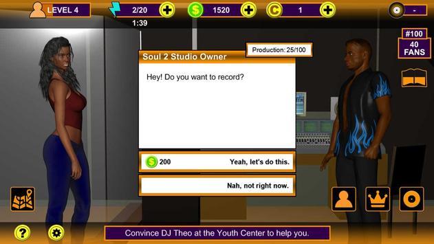 Rap Music Superstar Game screenshot 8
