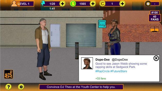 Rap Music Superstar Game screenshot 9