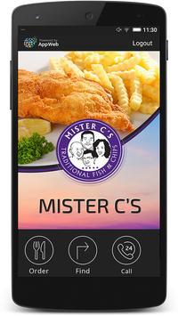 Mister C's poster