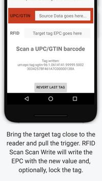 RFID Scan Scan Write apk screenshot
