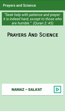 Namaz and Science poster