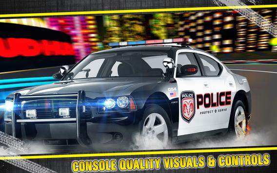 Police Pursuit Driving 3D poster